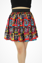 Load image into Gallery viewer, Day of the Dead Catrinas Elastic Skirt #LES