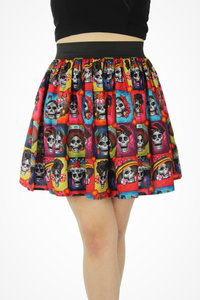 Day of the Dead Catrinas Elastic Skirt #LES