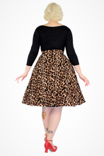 Load image into Gallery viewer, Flowy Leopard Skirt With Pockets XS-3XL #LCS