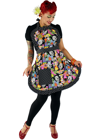 Day of the Dead Novios Apron #A910
