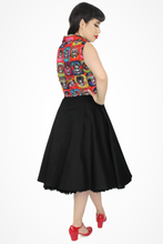 Load image into Gallery viewer, Model wearing circle dress, Pictured from the back