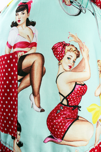 Pin Up Gals Apron