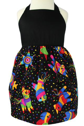 Girl's Pinata Halter Dress