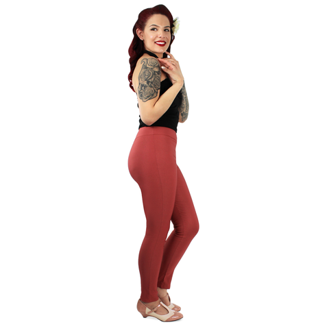 Pink Pin Up High Waist Cigarette Pants #PPP