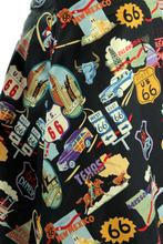 Load image into Gallery viewer, Route 66 Circle Skirt XS-2XL #R66S