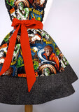 Hollywood Monsters Apron Two Tier #A994