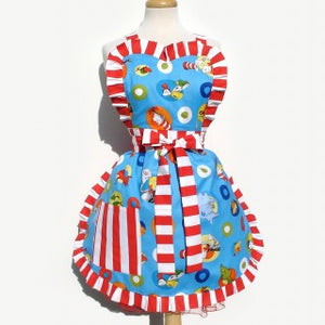 Dr Seuss The Cat In The Hat Apron Item#A935