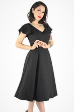 Load image into Gallery viewer, Black Butterfly Dress XS-3XL #FFFB