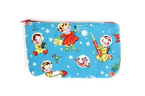 Sweet Outer Space Vintage Inspired Wallet #W804