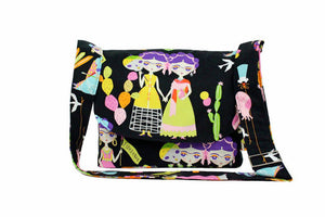 Black Frida Esperanza Messenger Bag / Crossbody Bag #MB-701