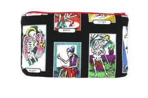 Skeletons Wallet / Bag / Small Makeup Bag #W902