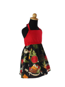 Girl's Frida Sol Halter Dress #GLDS-800