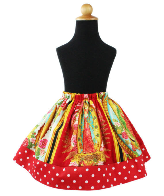 Girl's Virgin Mary Skirt #GSVM-700