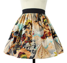 Load image into Gallery viewer, Skirt on mannequin, Pictured from the front, Close up
