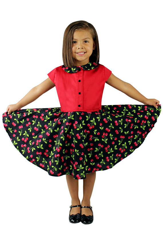 Girl's Cherry Dress #GCD