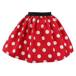 Girl's Minnie Mouse Skirt #GMMS