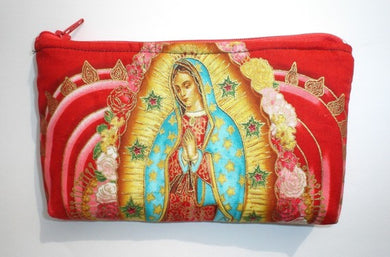 Red Virgin Mary Guadalupe wallet #RVW