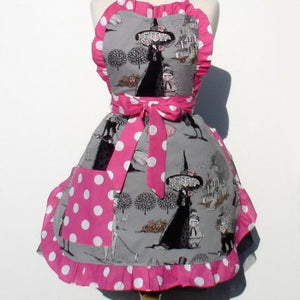 Ghastlies Witches Deluxe Full Apron Item#A948