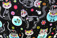 Load image into Gallery viewer, Cat Day of the Dead / Dia de los Muertos Inspired Bag #MB600