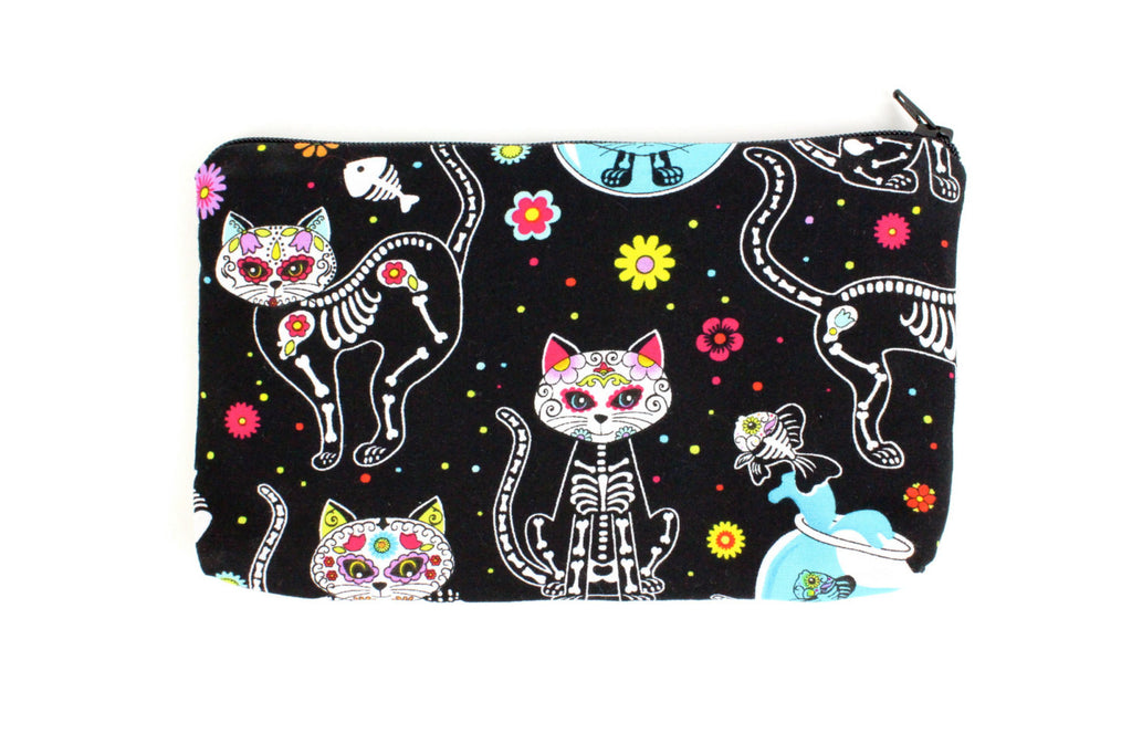 Day of the Dead Kittens Wallet #W806