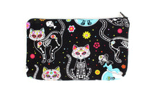 Load image into Gallery viewer, Day of the Dead Kittens Wallet #W806