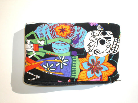 Day of the Dead Novios / Dia de los Muertos  Wallet #W215