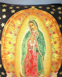 Pillow Mexican Virgin Mary Guadalupe Throw Pillow #P201