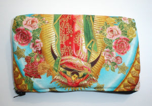 Mexican Virgin Mary Guadalupe wallet #W226