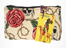 Load image into Gallery viewer, Day of the Dead / Dia de los Muertos Skulls and Roses Wallet # W202