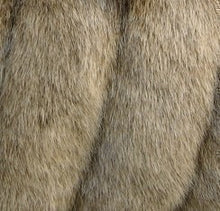 Load image into Gallery viewer, Faux Fur Fox Shawl/Stole #FS-890