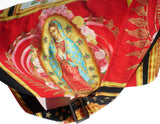 Guadalupe, Virgin Mary Mexican Art Messenger Bag #MB535