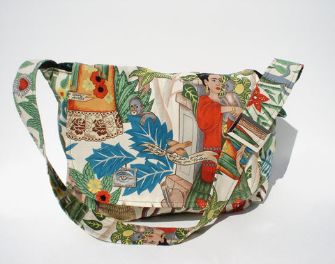 Day of the Dead Frida  Messenger Bag #MB503