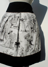Load image into Gallery viewer, Close up of print on skirt
