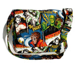 Hollywood Monsters Horror Movie Messenger bag #MB527