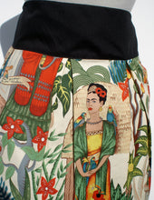 Load image into Gallery viewer, Day of the Dead Mexican Inspired Frida Skirt #S-RS753