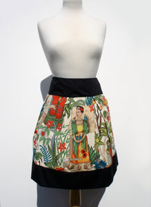 Day of the Dead Mexican Inspired Frida Skirt #S-RS753