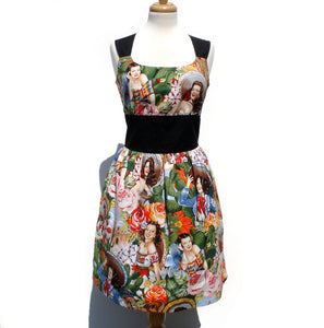 Rockabilly Pinup Classic Pinup Dress /Sabor de Senoritas Lolita Dress #D-RS721