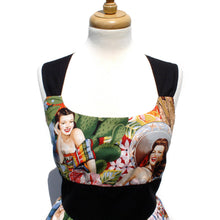 Load image into Gallery viewer, Rockabilly Pinup Classic Pinup Dress /Sabor de Senoritas Lolita Dress #D-RS721