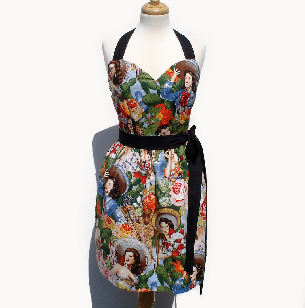 Pinup Dress Mexican Señoritas Dress #D-MS721