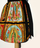 Guadalupe Virgin Mary  Halter Dress / Rockabilly Guadalupe Dress Mexican virgin Dress #D-AW708