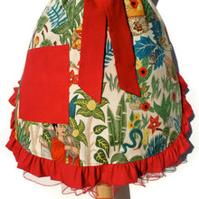 Load image into Gallery viewer, Frida  Vintage Inspired Apron #A977