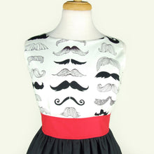 Load image into Gallery viewer, Mustache Dress / Moustache Dress #D-HW777