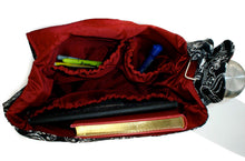 Load image into Gallery viewer, Victorian Gothic Motif Inspired Messenger Bag #MB-V712