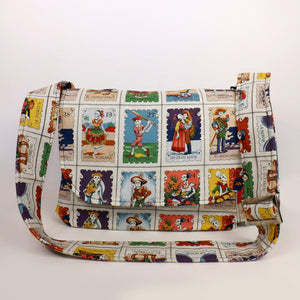 Cartas Marcadas Folklorico Messenger Bag #MB602