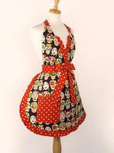 Load image into Gallery viewer, Frida and Skulls Apron #AP741