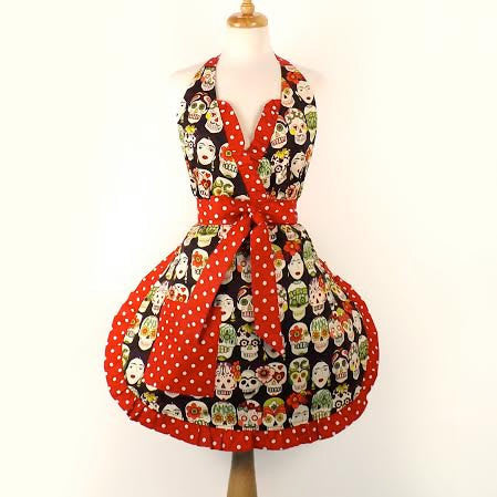 Frida and Skulls Apron #AP741