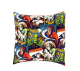 Horror Movie Monsters Pillow Cover Pillow Case 18 x 18 /Rockabilly Cushion Cover #P236