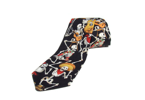 Day of the Dead Tie / Retro Mens Tie #T-524