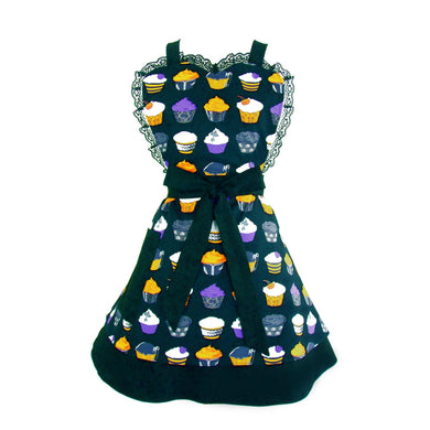 Gothic Cupcakes 2 Tier Apron #A-2T650