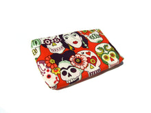 Load image into Gallery viewer, Frida and Skulls Wallet #W800